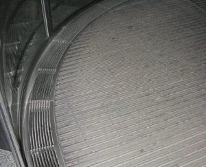 Boden Karusselltür mit Konvektor