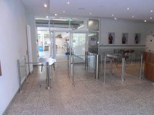 Eingangsbereich-Drehsperre