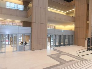 Justizzentrum Bochum – Ansicht Atrium Innen