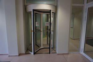 Ministerium Berlin Vereinzelungsanlage RC 2 als Zugang zum Sicherheitsbereich