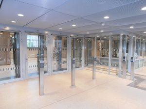 Justizzentrum Bochum - Zugang Mitarbeiter