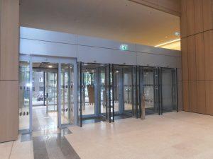 Justizzentrum Bochum - Sicherheitsschleusen Innenansicht