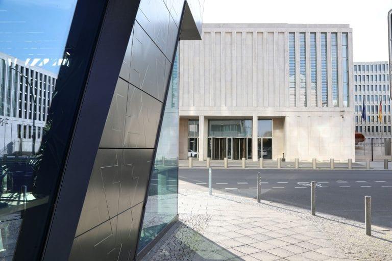 Bundesbehörde Berlin Ansicht