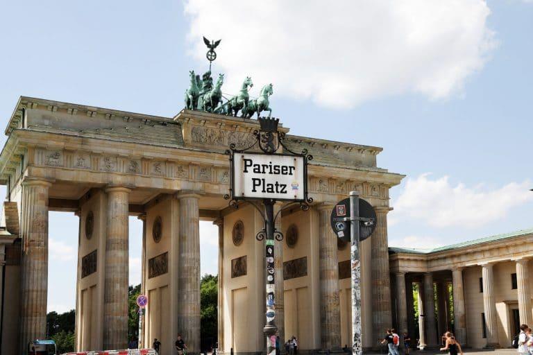 Französische Botschaft Berlin Pariser Platz